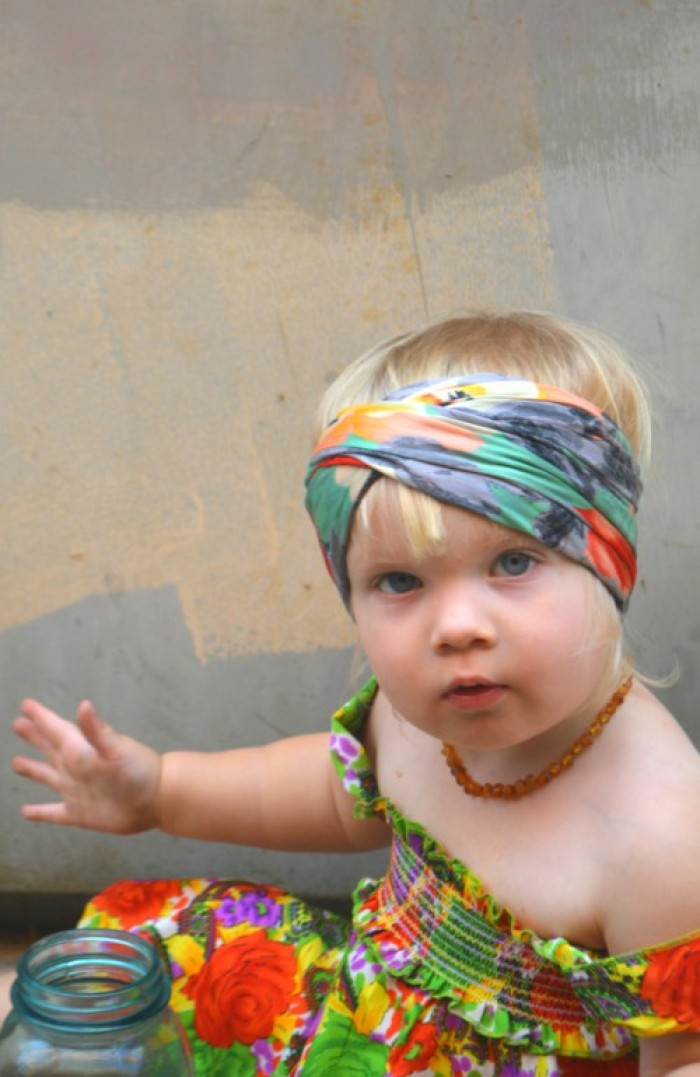 "The Look: ""Bohemian Sunshine."" Baby Eo Fashion OOTD feature by My Darla Clementine"