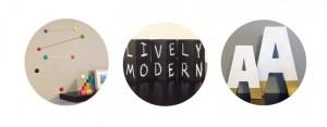 lively modern - b